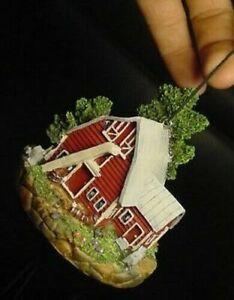 JOHN DEERE Red BARN TRACTOR WIND CHIMES farm home decor house yard tree lawn