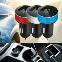Car Charger 5V/3.1A Quick Charge Dual USB Port Cigarette Lighter Adapter RR US