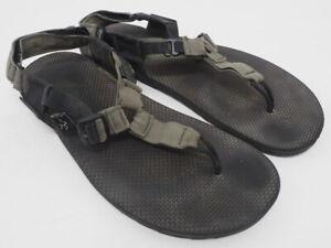 Bedrock Sandals Cairn Adventure Sandals Size M/11 W/12 Black/Olive Green