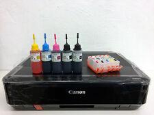 Canon PIXMA iP7250 CD DVD Photo Printer Refillable ink cartridge kits Bundle