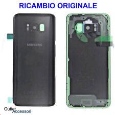 Back Cover Copribatteria ORIGINALE Samsung Galaxy S8 + G955F Nero Black Midnight