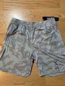 Under Armour Northwestern Wildcats Locker 9'' Shorts Sz XL BNwT UM8789 Rare