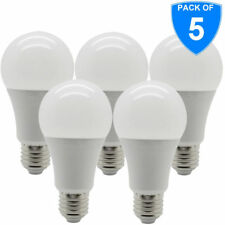 5x High Lumen LED ENERGY SAVER 12 W = 80 W 100 W E27 LAMPADINE LUCI VITE Edison