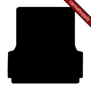 Boot Mat for Ford Ranger Mk3 2012 to 2019 Fully Tailored Black Luxury Carpet