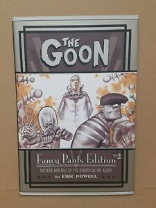 The Goon Fancy Pants Edition 2 (2008) Signed Eric Powell Dark Horse Hardcover