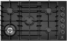 Electrolux 90cm Black Ceramic Glass Gas Cooktop EHG953BA