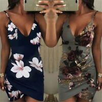 Women Bandage Bodycon Sleeveless Evening Party Cocktail Ladies Club Mini Dress