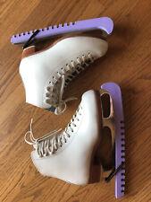 New listing Reidell Girls Ice Skates, White, Size 4