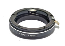 Leica M to Fuji X Mount Adapter Ring. LM Lens to Fuji X-Mount Adaptor.