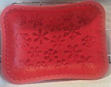Snowflakes Jello Cake Shallow Silicone Pan Baking Mold With Rack