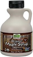 Organic Maple Syrup Grade A Dark Color, 16 Oz