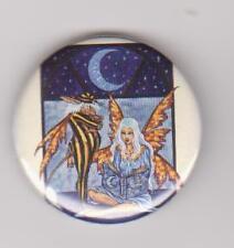 Amy Brown Bedtime Fairy pin badge magic fantasy 40mm