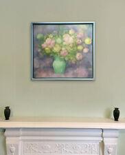 BABARA TODD, Still life, Flowers, Original Oil on Canvas