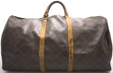 Louis Vuitton Vintage KEEPALL 60 Reise Sac Voyage Tasche Weekender Bag Verbrauch