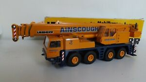 Conrad Liebherr LTM1090/1 Telescopic crane Rare Ainscough colours NZG Gescha