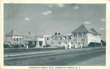 Automobiles Eagle Wheeler Monmouth Beach Pool Postcard 21-450