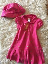NWT Gymboree Tennis Match Pink Turtle Dress And Hat 18/24