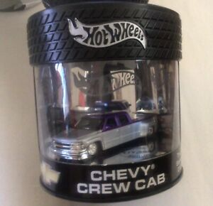 Hot Wheels 2003 Showcase Oil Can - Chevy Crew Cab Truck - 1 of 7,000 - MINT