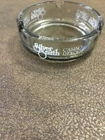 Vintage State Line Silver Smith Ashtray Hotel Casino Wendover NV Gambling