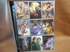 Boris & Julie Strokes of Genius Collector Cards Complete 72 Card Set Trading