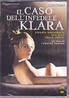 Dvd **IL CASO DELL'INFEDELE KLARA** con Claudio Santamaria nuovo 2009