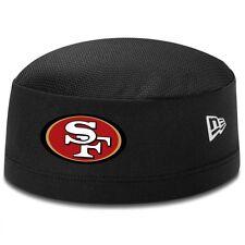 San Francisco 49ers New Era NFL Training Skull Cap On Field Skully Black Stretch