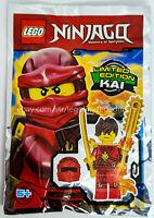 ORIGINAL LEGO Ninjago Limited Edition Minifigure KAI, FOIL PACK 891723