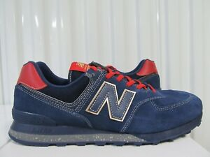 New Balance 574 INSPIRE THE DREAM BLACK HISTORY MONTH Kawhi Leonard 13 Blue Gold