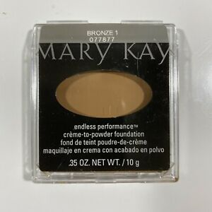 Mary Kay Endless Performance Crème-to-Powder Foundation BRONZE 1 - Full Size