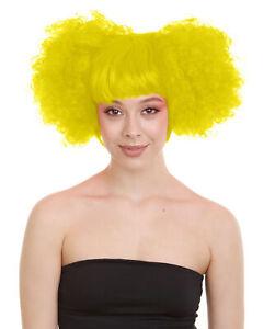 Adult Women's Clown Puff Unisex Wig