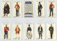 Full Set, Players, Ceremonial & Court Dress 1911 G-VG (Gb1877-442)