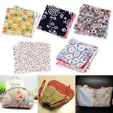 50pcs 10*10cm Cotton Fabric Patchwork Batiks Sewing Craft Mixed Squares Bundle U