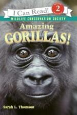 I Can Read Level 2: Amazing Gorillas! Free Shipping