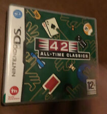 NINTENDO DS 42 ALL TIME CLASSICS GAME