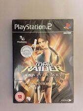 Lara Croft Tomb Raider Anniversary Collectors Edition Game PS2 NEW AND SEALED