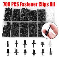700PCS Assortments Car Body Push Retainer Pin Rivet Trim Parts Clip Moulding Kit