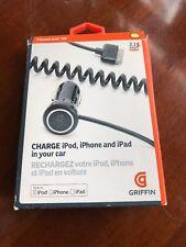 Griffin Power Jolt SE Car Charger iPod, iPhone, iPad 10 watt GC23090