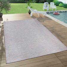 In- & Outdoor-Teppich Für Wohnzimmer, Balkon, Terrasse, Flachgewebe In Lila