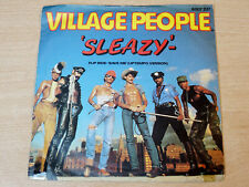 "EX !! Village People/Sleazy/1979 Mercury 7"" Single"