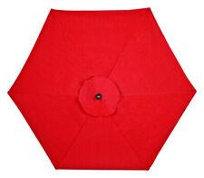 Living Accents  New Castle  9 ft. Tiltable Red  Patio  Umbrella