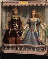 Barbie-Arthur and Guinevere Dolls