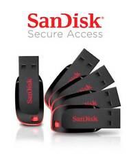 SanDisk 8GB 16GB 32GB 64GB USB 2.0 Memory Stick USB Flash Pen Drive Cruzer Blade