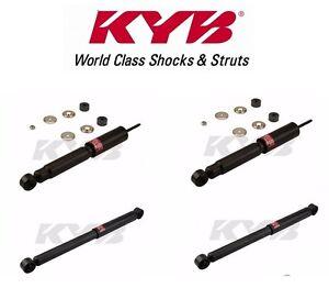 KYB Excel-G OEM Shocks Set for 1999-2006 Chevrolet Silverado 1500 4WD w//Torsion