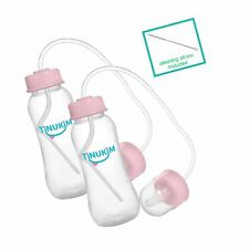 Tinukim Hands Free Baby Bottle – Anti-Colic Nursing System, 9 Ounce (Set of 2.