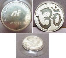 Pièce médaille en argent massif Inde A.N. FASHIONS INDIA PVT. LTD.