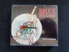 BRUCE SPRINGSTEEN LIVE AT WINTERLAND GSCD 3079 1990 3 CD FAT BOX OTTIMO USATO