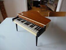 TOY PIANO JOUET ANCIEN CIRCA 1970 ERREGI FIRENZE BOIS ET PLASTIQUE 18 TOUCHES