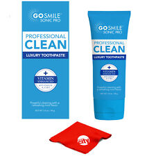Go Smile Professional Vitamin Enhanced Made In USA Luxury Mint Toothpaste 3.4 oz