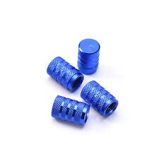 4 X Wheel Tyre Tire Valve Stems Air Dust Cover Screw Caps Car Truck Bike Blue AU
