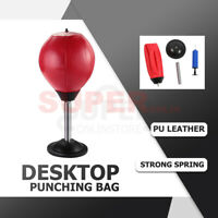 Desktop Punching Ball Boxing Punch Bags Relieve Stress Remover Gifts Toys NEW